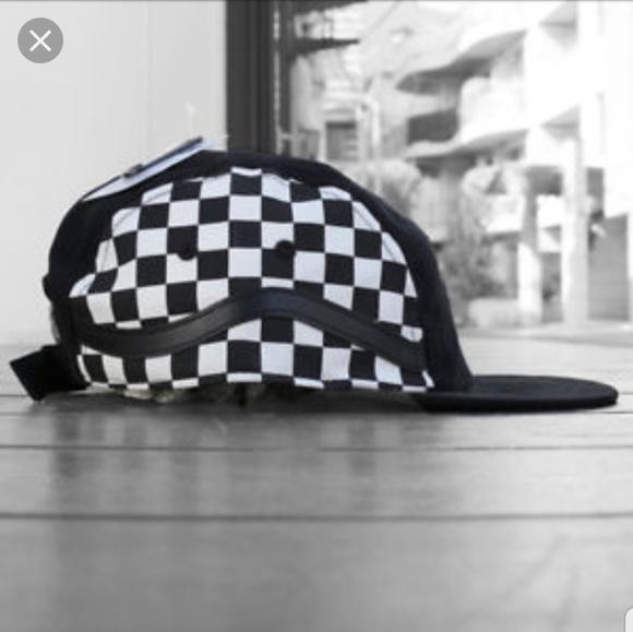 cf5de1ab6b233 Vans Accessories | Nwt 5panel Checkered Hat | Poshmark